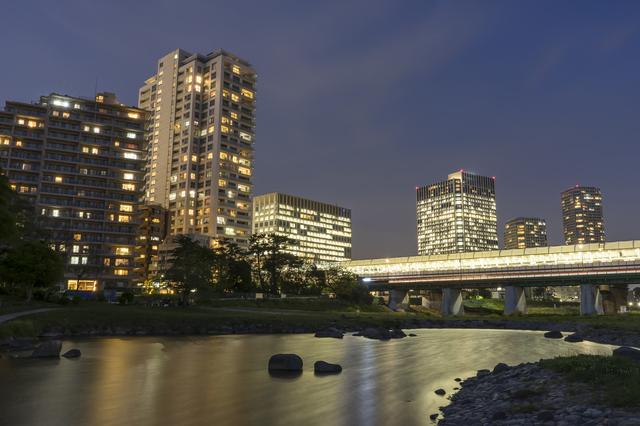二子玉川の夜景