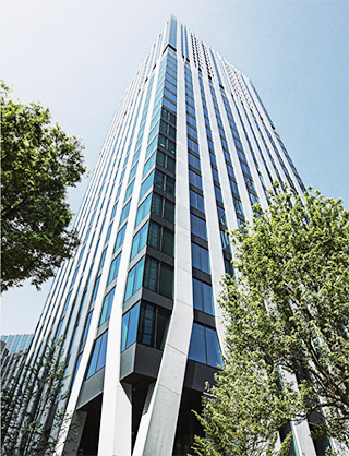 Dマークス西新宿タワーの外観