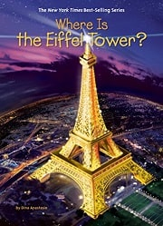 エッフェル塔についての英語の本