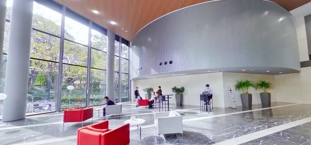セントラルパークタワー・ラ・トゥール新宿のカフェ
