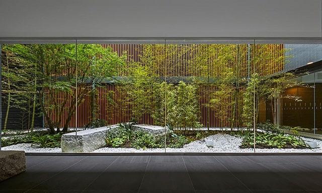 ラ・トゥール京都東山の中庭