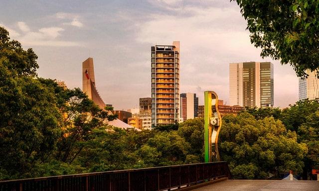 緑豊かなラ・トゥール渋谷神南の景色